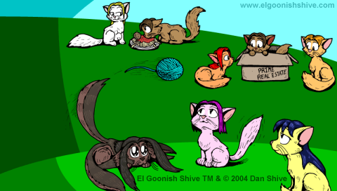 El Goonish Kitties BG